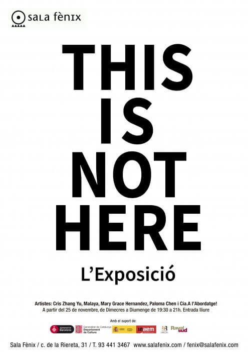 Exposició This Is Not Here