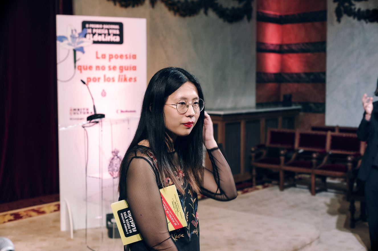 "La poeta Paloma Chen: ""La gente asocia la palabra 'china' a restaurante de comida barata, cutre"""
